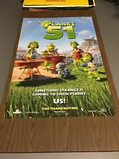 PLANET 51 - 27x40 Original DS Movie Poster
