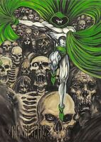 THE SPECTRE / DC Comics Master Series (1994) BASE Trading Card #55