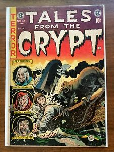 Tales from the Crypt (1950 E.C. Comics) #45