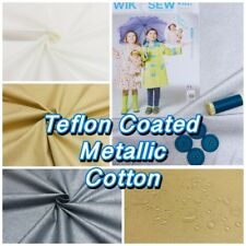Teflon Coated Waterproof Metallic Shine Cotton Christmas Tablecloth Craft Fabric
