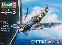SUPERMARINE SPITFIRE MK.IIa (RAF MARKINGS)#03953 1/72 REVELL
