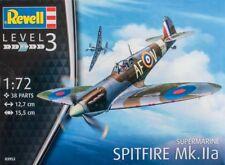 SUPERMARINE SPITFIRE MK.IIa (RAF MARKINGS) 1/72 REVELL