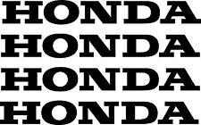 LARGE 4x HONDA Sticker Decals Car Ute Motorbike 300mm