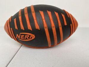 Nerf Sports Weather Blitz Football - Orange / Black - #E1293 - 2017 Hasbro