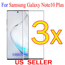 3x Full Cover Curved Clear Screen Protector Guard For Samsung Galaxy Note10 Plus