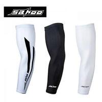 SAHOO cycling arm sleeve warmers  bike bicycle armwarmers compression UV protect