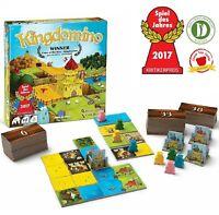 Kingdomino Game Family Strategy Building Board Card Game Award Winning 2-4 Play