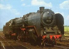 AK · Dampf-Lok 01 016 - DR - Bhf. Helmstedt - 1967 (1068)