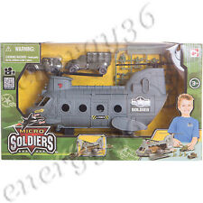 "Game set CHAP MEI ""Nano-Army. Transport helicopter with filling"" for boys 3+"