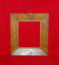 Antique Grain Painted Birdseye Maple Picture Frame American 1840's Hanging Ring