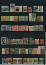 Germany, Deutsches Reich, Nazi, liquidation collection, stamps, Lot,used (EG 15)