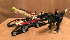 7476 LEGO Complete Dino Attack Iron Predator vs. T-Rex green dinosaur light up