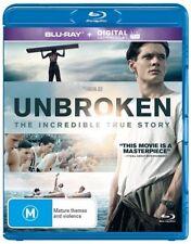 Unbroken Blu-ray Brand New Region B Aust. - Jack O'Connell  ( NO UV )