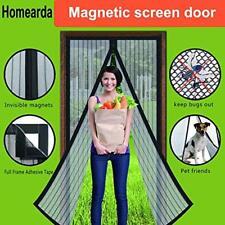 Magnetic Screen Door - Full Frame, Fits Up To 34x82 Inch Doors Exterior Building
