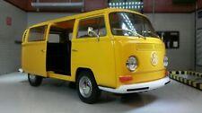 Autobus di modellismo statico giallo pressofuso