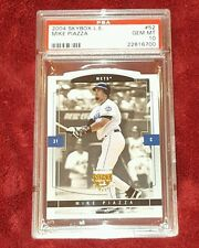 MIKE PIAZZA 2004  LIMITED EDITION   PSA 10 ☆ DIE-CUT BEAUTY