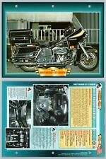 Harley-Davidson FLH74 Liberator - 1978 - Atlas Motorbike Fact File Card