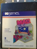 M.A.D. Atari 2600 Video Game Cartridge US Games 1982 MAD Tested Works