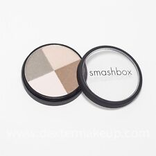 Smashbox Eye Shadow Quad in 'Juxtapose' HUGE Compact w Shimmer NEW! Retail $32