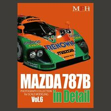 MAZDA 787 B in Detail (PHOTOGRAPH COLLECTION for SCALE MODELING vol.6) New