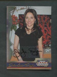 2008 Donruss Americana Julia Louis-Dreyfus Signed AUTO