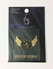 BIOHAZARD 6 Bonus Premium Makie Sticker DSO Division of Security Operations