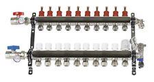 Central Boiler Stainless Steel  10 Loop set Manifolds #2900560