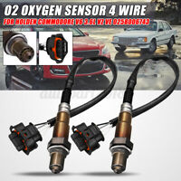 2x O2 Oxygen Sensor 4 Wire For Holden Commodore V6 3.6L VZ VE LY7 LE0 0258006743
