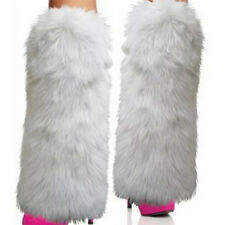 Fashion Ladies Soft Winter Costume Accessory Legging Furry Fuzzy Sexy Leg Warmer