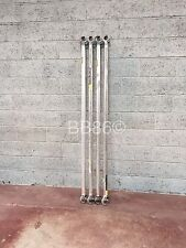 4 x Boss Youngman 2.7m Diagonal Blue Scaffold Tower Braces Poles