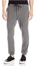 Kenneth Cole New York Men's Flat Front Jogger Pants,Size 36,Flannel Heather,$128