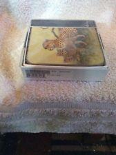 Vintage Pimpernel Box set of coasters Wildlife