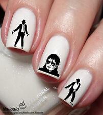 Michael Jackson Nail Art Sticker Water Transfer Decal Tattoo 138