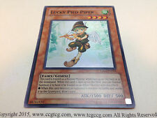 YuGiOh Lucky Pied Piper (TAEV-EN021) Super Rare 1st/unlimited Edition Mint