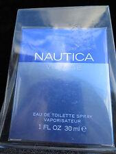 NEW Nautica Voyage for men Eau De Toilette Spray 1 oz  30ml  Factroy Sealed Box.