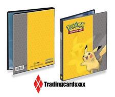 ♦Yu-Gi-Oh!♦ Album A5 Ultra Pro Classeur 4-Pocket Portfolio 80 cartes : Pikachu