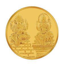 RSBL eCoins Lakshmiji & Ganeshji 5 gm Gold Coin 24kt purity 995 Fineness