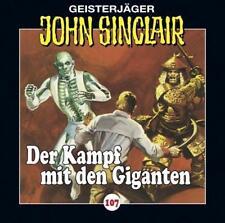 "Preisalarm! * HÖRSPIEL CD * JOHN SINCLAIR ""Kampf der Giganten"" 107 * NEU/OVP"