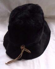 Vintage Le Charme Creations LADIES BUCKET HAT Faux Fur Musketeer Hat Austria
