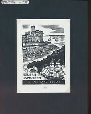 EX04848 EX Libris Herbert OTT 1986 Kathleen Beyersdorf Opus 988 fine X2