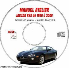 XK8 96-06 - Manuel Atelier CDROM JAGUAR Anglais Expédition - 3 euros, Support -