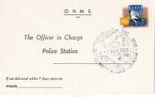 APF013) Cover Australia 1998, Police Museum Cancellation, first day of use of po
