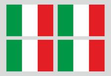 Kfz-Aufkleber Flagge Italien Set R#4 (75 mm x 50 mm)