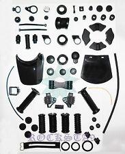 Yamaha RX100 RS100 RX125 pleine en caoutchouc Oeillet Kit Moyeu De caoutchouc pare boue Grip Pied