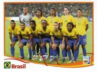 Panini WM 2011 255 Braslien Brasil Team World Cup 11 Women