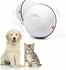 Ehh Interactive Cat Toy Wicked Ball Usb Rechargeable Automatic Self Rotating Led