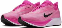 Nike Zoom Fly 3 Women's Size 5 Berry Hot Pink Vaporfly Running Shoes AT8241-600