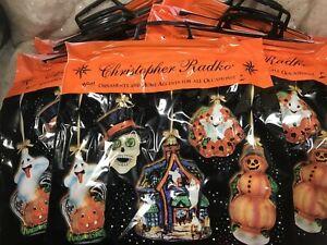 Radko Halloween Treat Bags Lot of 12
