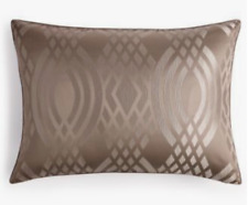NEW Hotel Collection Brown Dimensions Standard Pillow Sham MSRP $120 Brown Gray