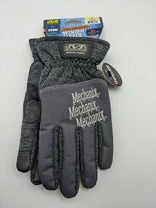Mechanix Wear - Winter Fleece Gloves Size S - Touchscreen Capable - Grey/Black